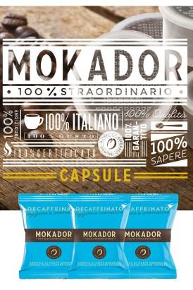 Decaffeinated coffee capsules espresso coffee capsules