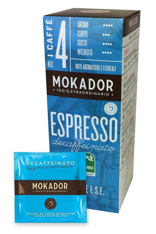 Decaffeinated ESE Espresso Coffe Pod 20 pcs