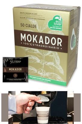 Piu Crema Forte ESE Espresso Coffe Pod 50 pcs