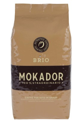 Premium coffee beans Mokador BRIO